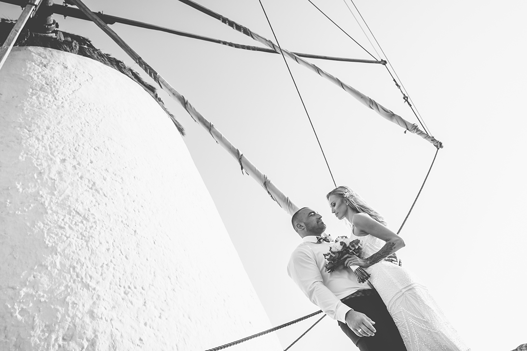 mykonos wedding photographer couple #mykonosphotographer mykonosgreece #mykonosphotography portrait lifestyle villa mykonos star hotel olympia concierge chora mills wedding shooting view